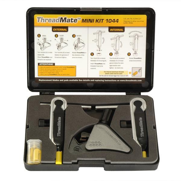 Außen- und Innengewindenachschneider Set ThreadMate 1044, Außen 4 - 13 mm, Innen 5 - 12 mm