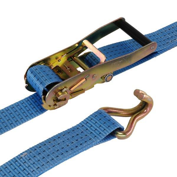 Zurrgurt 50 mm, 4 m, 2-teilig, Doppelspitzhaken für Palettennetz LS-LN-10481 und LS-LN-10109