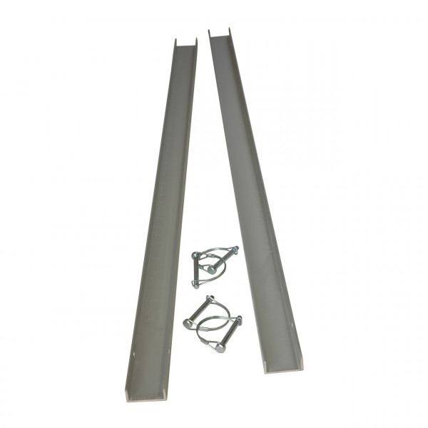 Aluminiumschienen Set für eine Uniko 6in1 Faltrampe