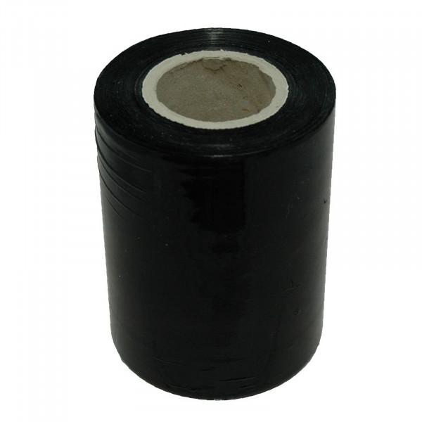 Mini-Stretchfolie, schwarz, 150 lfm, 23 µ, Kern 100 x 38 mm