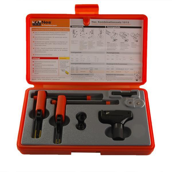 Außen- und Innengewindenachschneider Set 1015, Außen 4 - 18 mm, Innen 8 - 16 mm