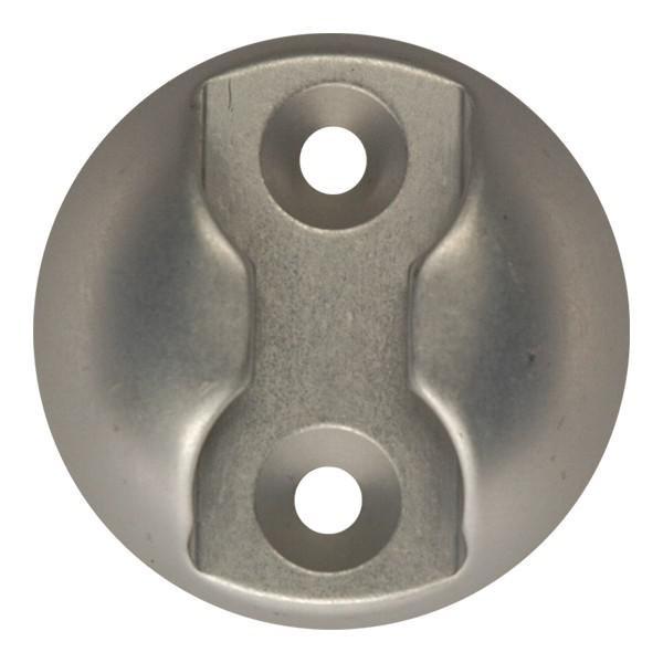 Zurrplatte, Aluminium, rund, 1 Haltepunkt