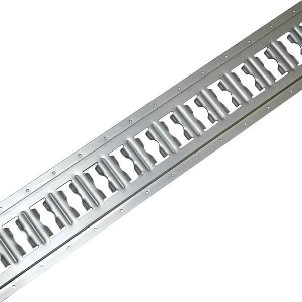 Kombi-Zurrschiene, Aluminium, 3 m, (Zuschnitt) Kombi-Ankerschiene