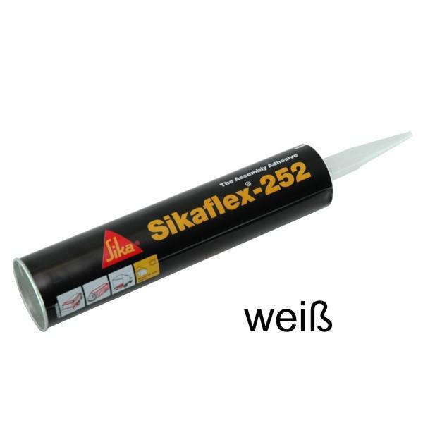 Sikaflex® - 252, 300 ml Kartusche, Farbe weiß