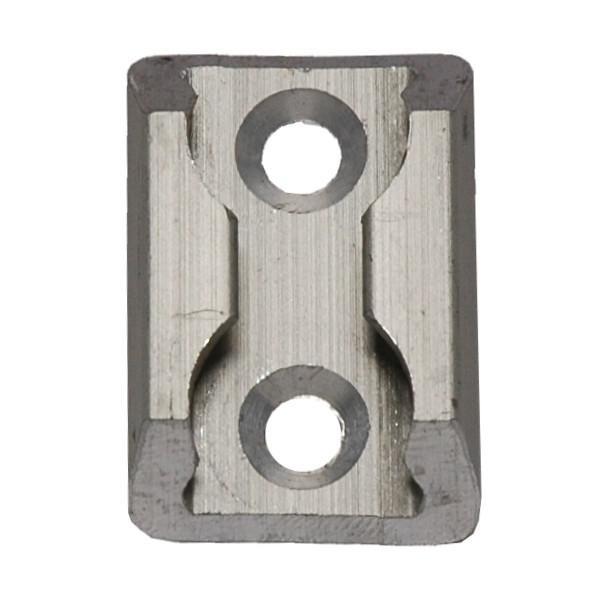 Zurrplatte, Aluminium, eckig, 1 Haltepunkt