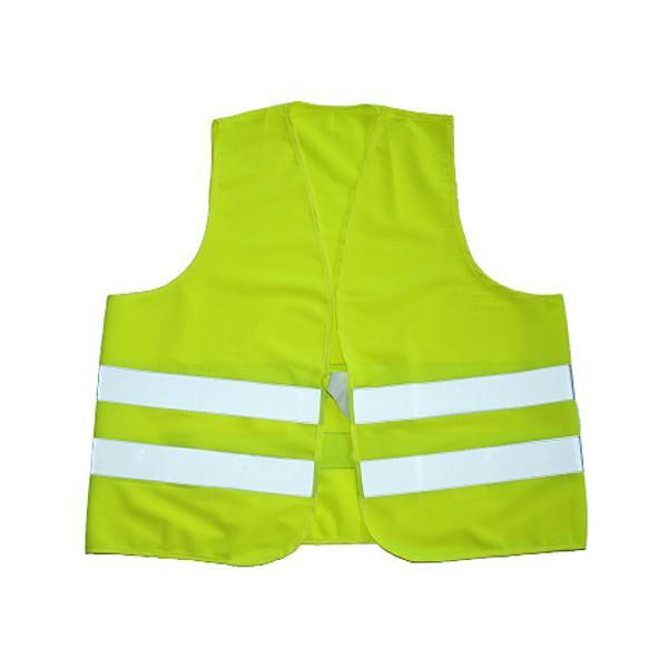 Warnweste, gelb, nach DIN EN ISO 20471