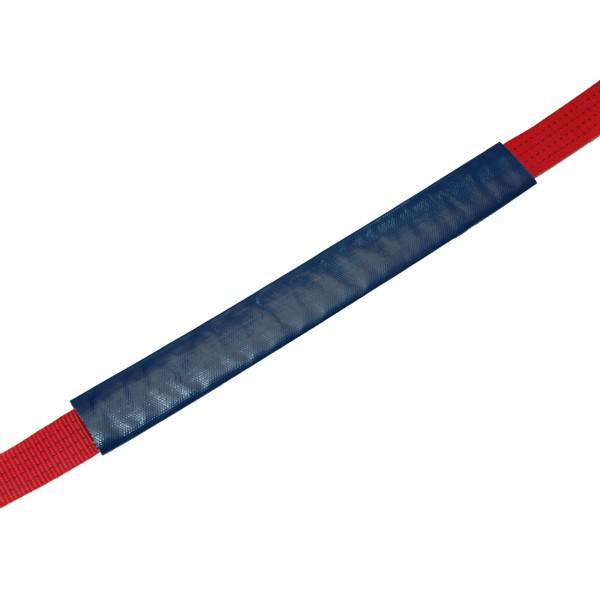 Kantenschutzschlauch, für Gurtbreite bis 50 mm, blau - Meterware