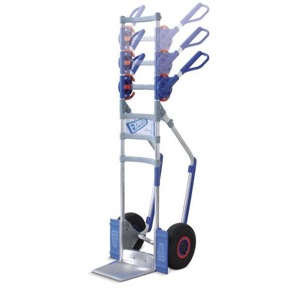 EXPRESSO Transportkarre, Sackkarre mit CLICK4 Griffsystem, Tragkraft 300 kg