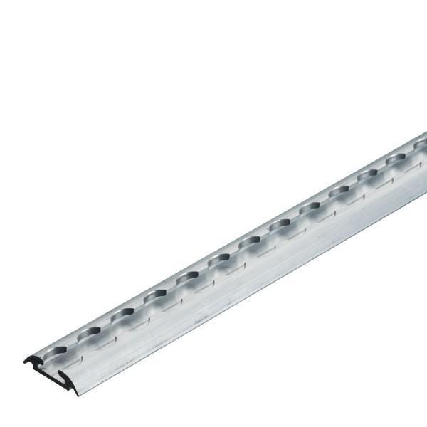 Airlineschiene, Halbrundprofil Premium light, Länge 3 m (Zuschnitt)