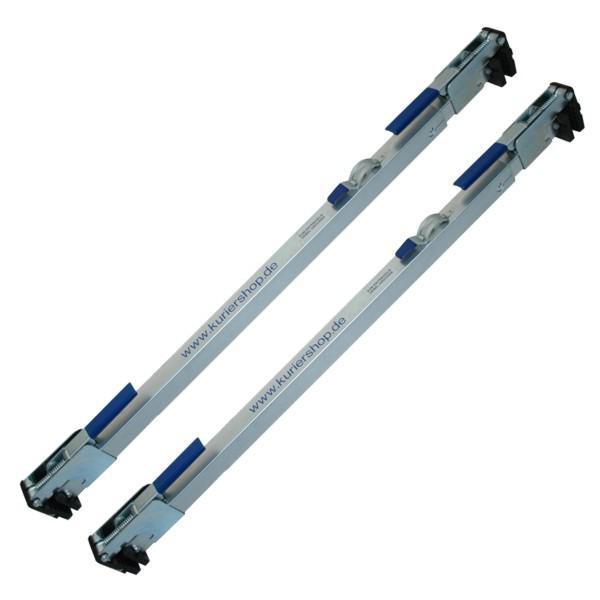 Zwischenwandverschluss, Stahl, verstellbar 1,14 m - 2,71 m - im 2er Set