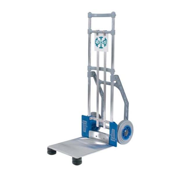 EXPRESSO Transportkarre, Sackkarre - für Tiefkühlkost, Tragkraft 100 kg