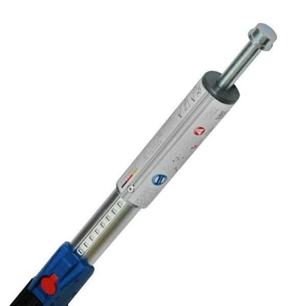 KIM 44 Profi / TransSAFE® Sperrbalken, Alu, 24 mm Vollbolzen, 2000-2500 mm