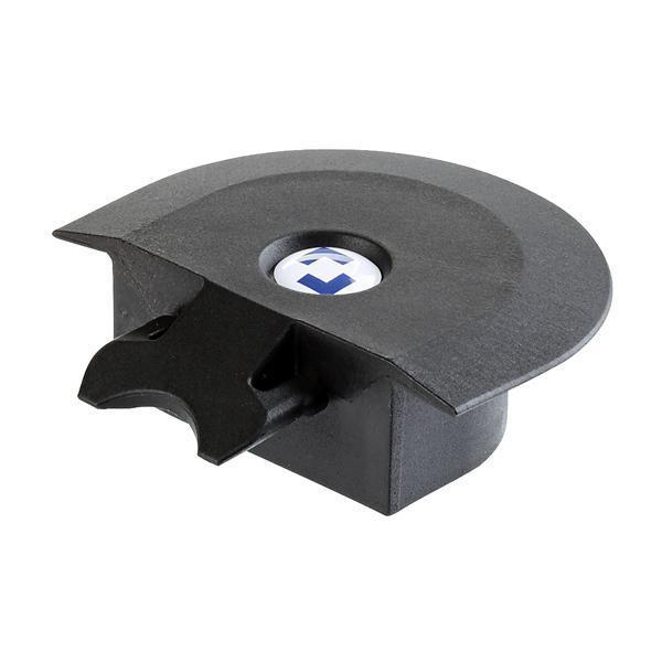 Endstück für Airlineschienen Einlassprofil / Eckprofil, Premium, Farbe schwarz