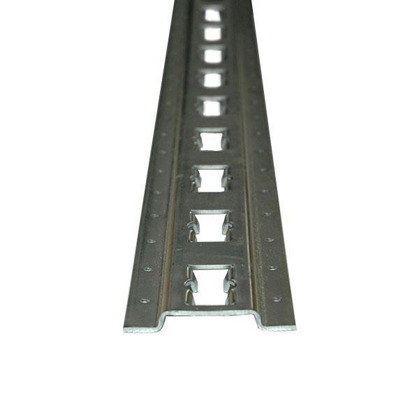 Vertikale Kombi-Ankerschiene, 3 m, (Zuschnitt)