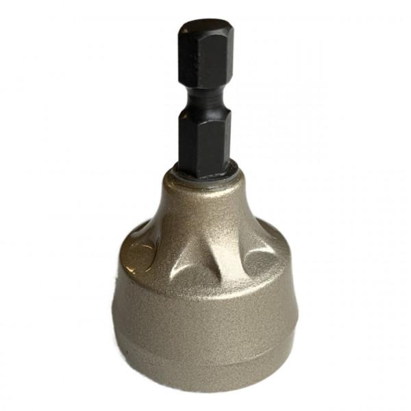 Entgrater Abfräser Wolfram Stahl für Aussengewinde von 3 mm bis 19 mm anwendbar von 0 bis 500 U/min