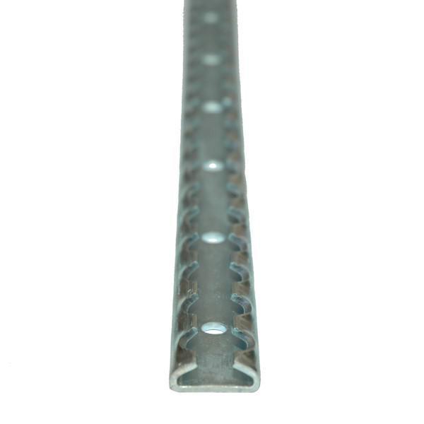 Airlineschiene, Stahl verzinkt, Länge 1,2 m, 2er Set