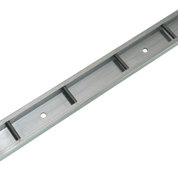 Stäbchenzurrschiene, Aluminium, Länge 3 m (Zuschnitt)