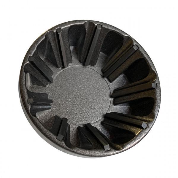 Entgrater Abfräser Wolfram Stahl für Aussengewinde von 34 mm bis 54 mm anwendbar von 0 bis 60 U/min