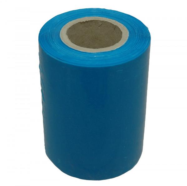 Mini-Stretchfolie, blau, 150 lfm, 23 µ, Kern 100 x 38 mm