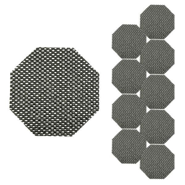 Black-Cat Antirutschmatte Piccolo 15 x 15 cm, 10er Set