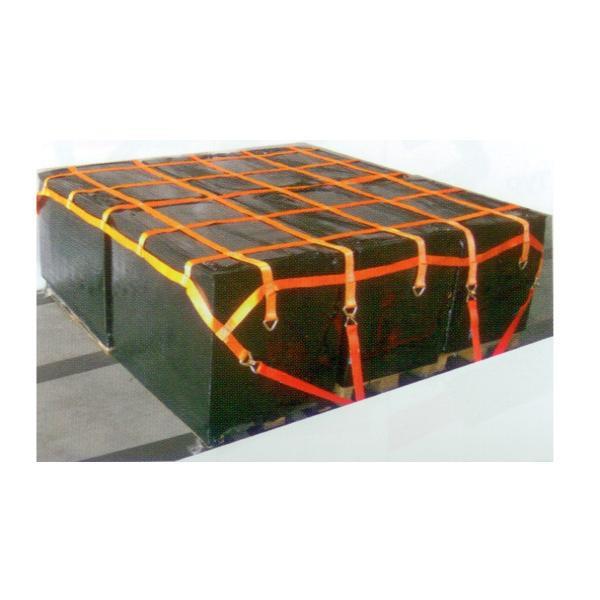 LKW 6-fach Palettennetz mit D-Ringe, 2,70 m x 2,70 m, Maschenweite 50 cm x 50 cm