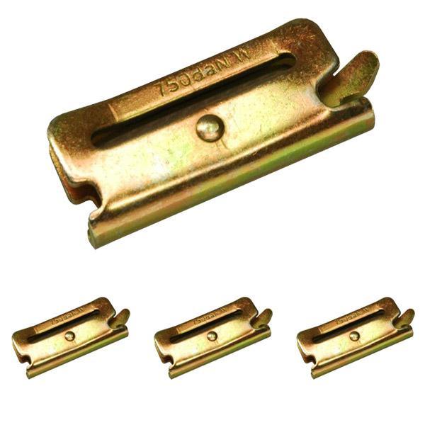 Endbeschlag für Kombi-Ankerschiene & Langlochschiene, LC 750 daN, 4er Set