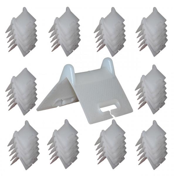 Kantenschutzwinkel, weiß, stapelbar, 100er Set