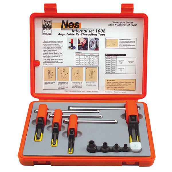 Innengewindenachschneider Set Nes 1008, 8 - 32 mm