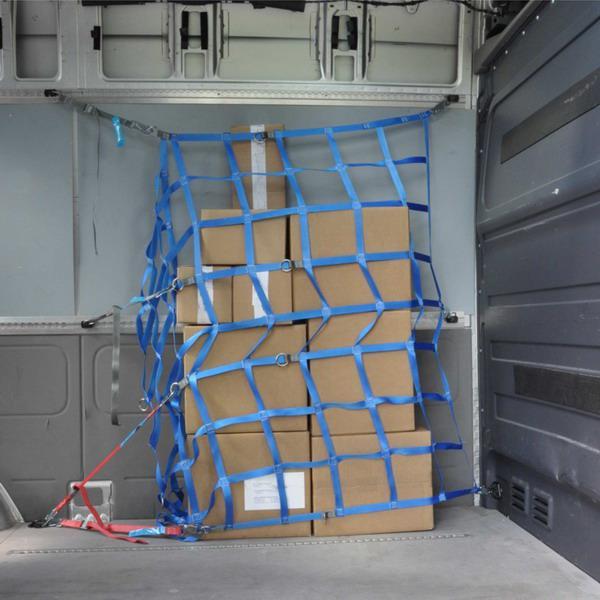 Ladungssicherungsnetz Transporter-Seitenwandnetz, Maße 1,505 m x 1,465 m, LC 300 daN