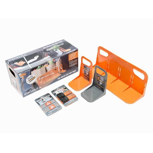 Stayhold Superpack - Transportsicherung für den Kofferraum, 7-teilig