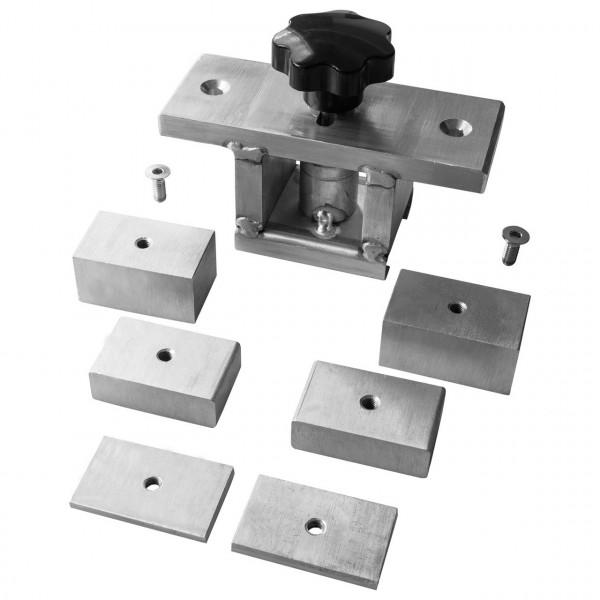 Rollbehältersicherungs-Set, 9-teilig, Stahl, BC 1.000 daN
