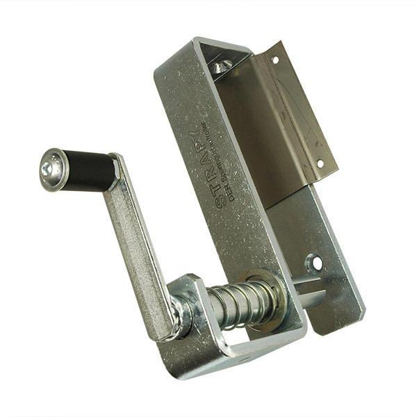 STRAPY® - DER Spanngurtaufroller - mit Edelstahl-Halteplatte (ohne Magnete)