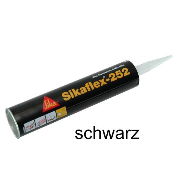 Sikaflex® - 252, 300 ml Kartusche, Farbe schwarz