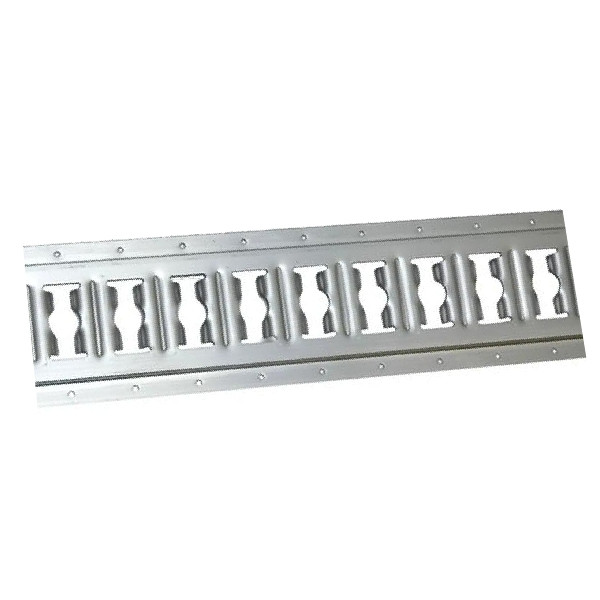 Kombi-Zurrschiene, Aluminium eloxiert, Länge 45 cm